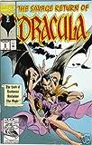 The Savage Return Of Dracula #1 BY Marvel Comics