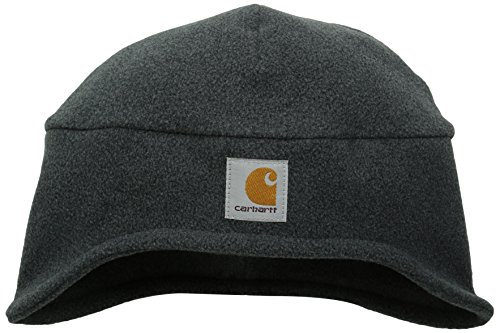 Carhartt Men's Fleece 2-In-1 Headwear,Charcoal Heather,One (Headwear Fleece)