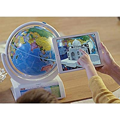 Oregon Scientific SG338R Smart Globe Explorer AR Educational World Geography Kids-Learning Toy Space Planet Science Earths Inner Core Bluetooth Pen: Toys & Games