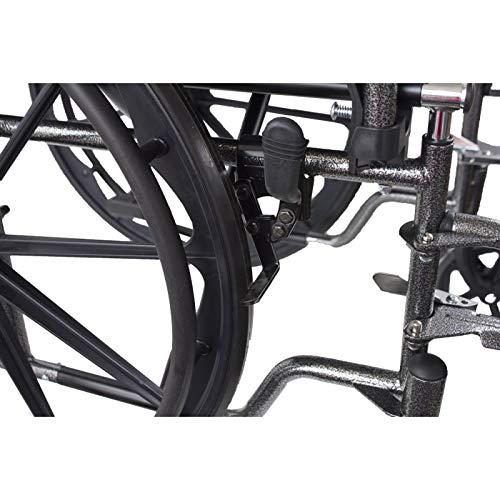 Mobiclinic, modelo S220, Silla de ruedas plegable premium ...