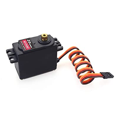 FINEjuyudd Metal Servo ZD Racing M1500 15kg Analog Gear Servo for 1/8 1/10 RC Car Traxxas HPI HSP: Toys & Games