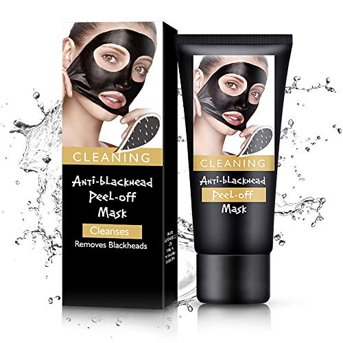 Black Mask Blackhead Remover Mask,Charcoal Face Mask For Face, Acne, Oily Skin And Blackheads, Peel Off Mask With Organic Activated Charcoal(60gram)