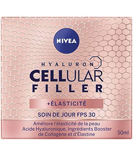 NIVEA Hyaluron Cellular Filler + Elasticity & Re-densifying Day Cream SPF30, 50 ml