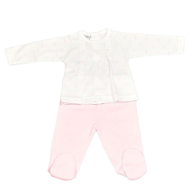 BABIDU 56235, Conjunto de Ropa Interior Unisex bebé, (Rosa 001), 62
