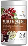 Dynamic Fruits & Greens Chocolate Flavor *Certified Organic* w/ Acai, Gogi, Mangosteen, Noni & Pomegranate Super Fruits 300 Grams (Chocolate) by Nutri-Dyn