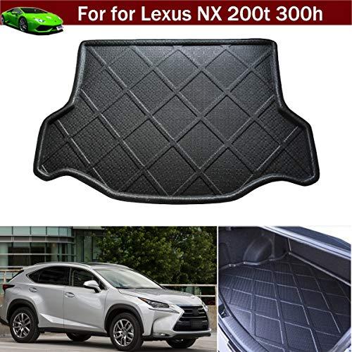 Kaitian 1pcs Car Mat Cargo Liner Car Boot Mat Cargo Mat Trunk Liner Tray Floor Mat Carpet Custom Fit for Lexus NX 200t 300h 2015 2016 2017 2018 2019 - Boot Liner Rubber