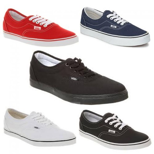 78a9adab7d M1 Vans Lpe Womens Canvas Trainers Lace Up Shoes (4.5 UK