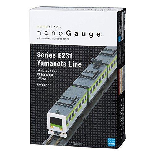 Nanoblock Nanogauge Ngt_005 Train Collection Series E231 Yamanote Line Authentic
