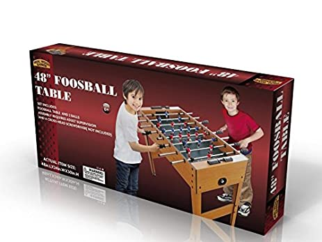 Amazon.com: Foosball Table  48 Inch Playing Surface With Legs/Levelers:  Toys U0026 Games