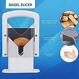 Homeries Bagel Slicer, Perfect for Bagels, Safe