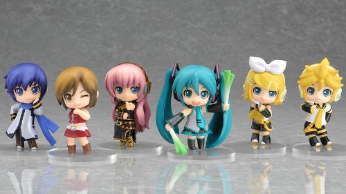 Nendoroid Vocaloid Series 01 BOX Circle k Thanks limited display stage set by Good Smile