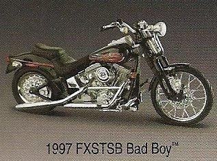 Harley-Davidson Motorcycle 1997 FXSTSB Bad Boy 1: 18 scale (Davidson Boys Motorcycles Harley)
