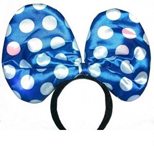 Mammoth Sales Light Up LED Flashing Jumbo Polka Dot Headband Costume -