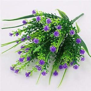 FidgetGear Artificial Fake Baby's Breath Gypsophila Flowers Bouquet Home Wedding Decor Purple 112