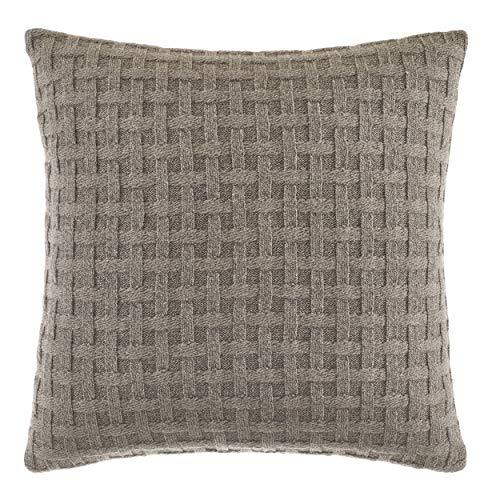 Nautica Saybrook Throw Pillow, 16x16, Mocha