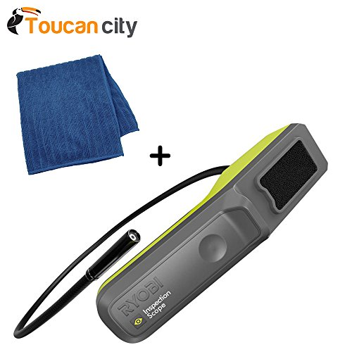Ryobi Phone Works Inspection Scope ES5001 and Toucan City Microfiber – clothe