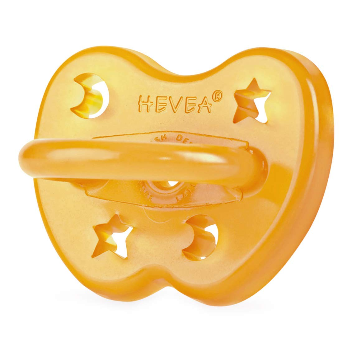 HEVEA Star & Moon Orthodontic Pacifier 0-3 months