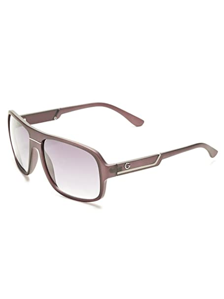 Amazon.com: G By Guess square-frame Mirrored anteojos de sol ...