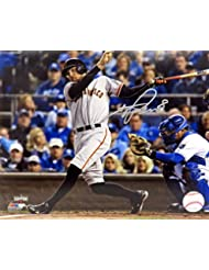 67311b6fd5ce9 SF Giants Hunter Pence Autographed 2014 World Series 8x10 Photograph  (unframed)