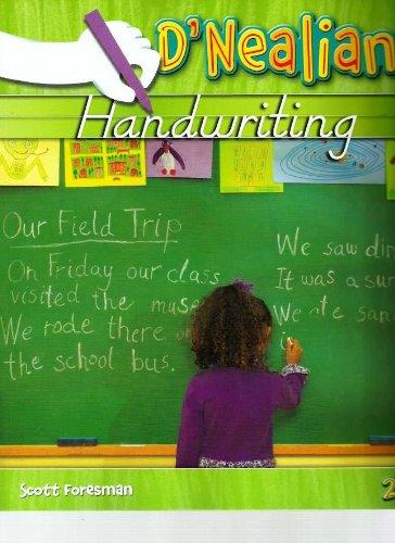 DNEALIAN HANDWRITING 2008 STUDENT EDITION (CONSUMABLE) GRADE 2
