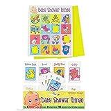 Alandra Baby Shower Bingo Game (One Size) (Multicolored)
