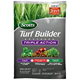 Scotts Turf Builder Southern Triple Action not only has the strength to take on tough weeds like Dollar weed and Clover, but also kills fire ants AND feeds your lawn. This product will kill the toughest Southern weeds, kill fire ants and other pesky ...
