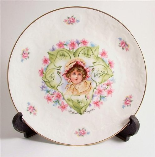 Royal Doulton Valentines Day Plate - Royal Doulton Valentine plate My Valentine 1984 Valentines Day CP231