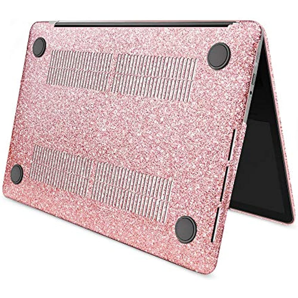 "Macbook Air 13/"" Case 2018 Release A1932 Glitter Bling Smooth Protective Laptop S"