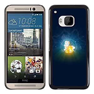 YiPhone /// Prima de resorte delgada de la cubierta del caso de Shell Armor - Aries Zodiac Sign - HTC One M9
