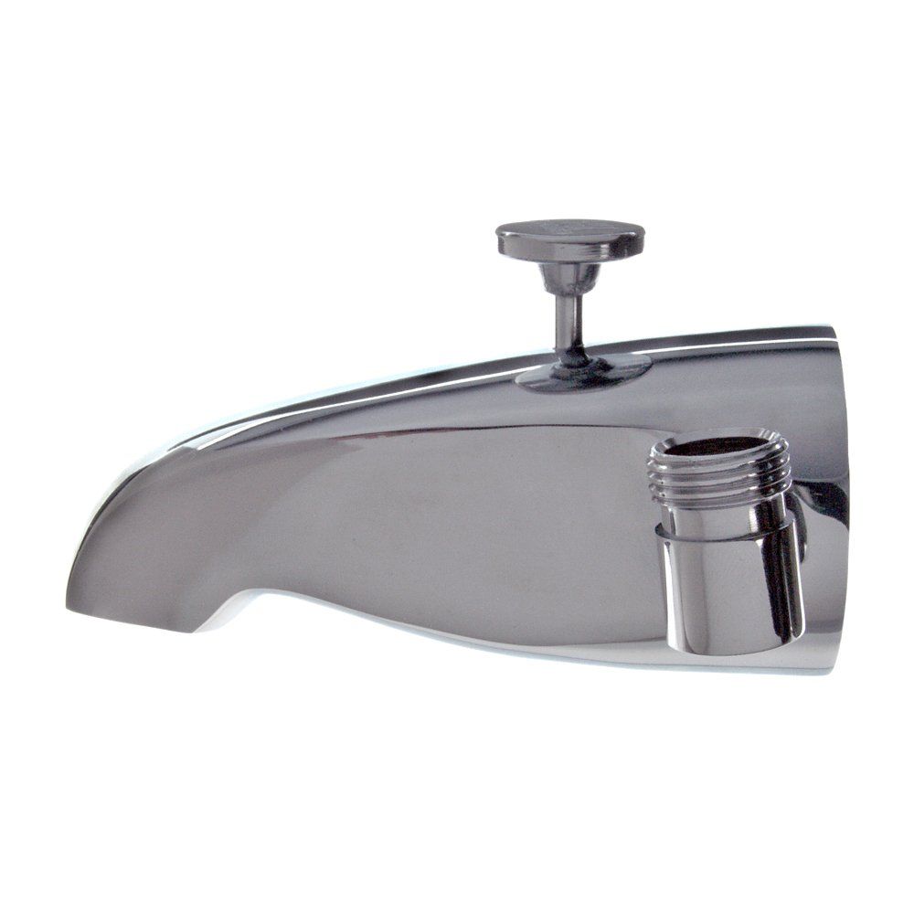 Danco Chrome Tub Spout with Diverter, Chrome - Bathtub And Shower ...