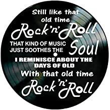 Old Time Rock N Roll song lyrics by Bob Seger on a Vinyl Record Album