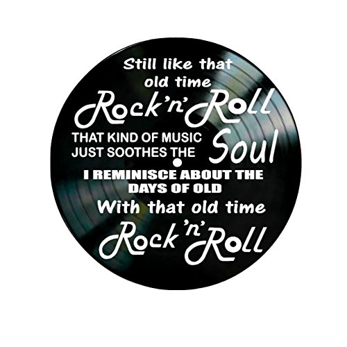 Old Time Rock N Roll song lyrics by Bob Seger on a Vinyl Rec