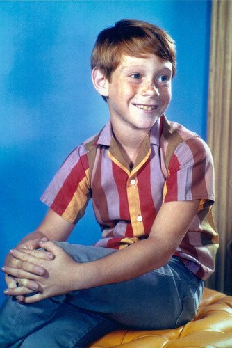 Bill Mumy Smiling Studio In Striped Shirt 24x36 Poster