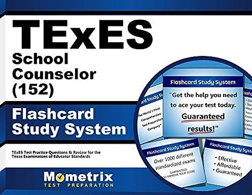texes school counselor 152 flashcard study system texes test rh amazon com