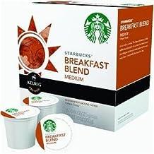Starbucks Breakfast Blend Roast Coffee Keurig K-Cups, 16 Count