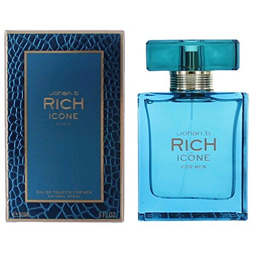 Rich Icone By Johan B Cologne for Men 3.0 Oz / 90 Ml Eau De Toilette Spray by Johan