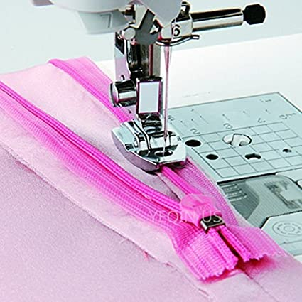 Amazon YEQIN Popular Invisible Concealed Snap On Zipper Zip Stunning Snap On Sewing Machine Feet