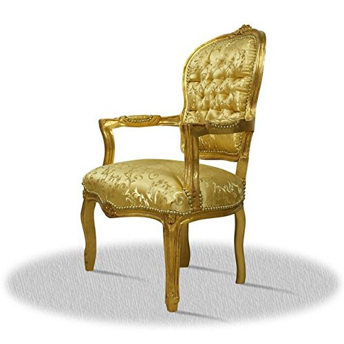 LouisXV Sillón barroco Rococo fauteuille AlCh0307GoGo ...