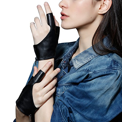 Fioretto Genuine Leather Fingerless Motorcycle product image