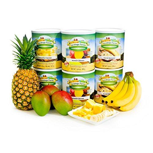 Freeze Dried Tropical Fruits Pack by Saratoga Farms