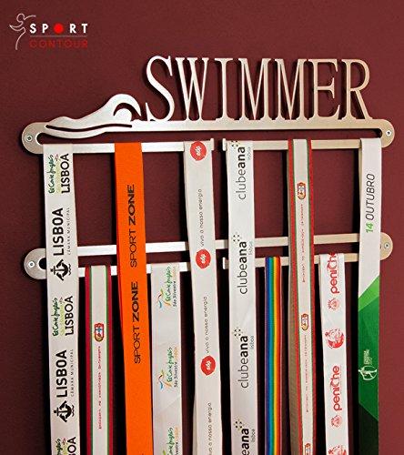 Sport Contour Double porte-mé dailles de natation