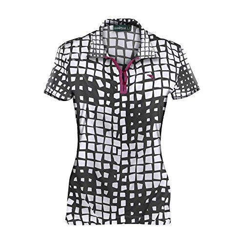 Chervò Mujer 59729 White Summer Alleluia Spring Polo Black BSqwFB4