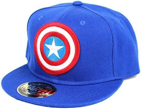 Los Hombres de la Marvel Comics Capitán América Snapback Cap ...