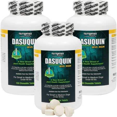 Image of Dasuquin 3PACK for Small/Medium Dogs under 60 lbs. with MSM (450 Chewable Tabs)