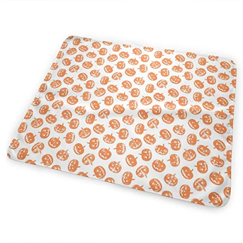 Jack-o'-Lantern- Pumpkins - Halloween_92054 Baby Bear Baby Portable Reusable Changing Pad Mat 31.5 X 25.5 inch for $<!--$19.68-->