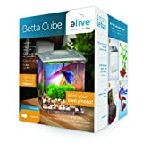 Elive Betta Cube, Silver, .75 Gallon
