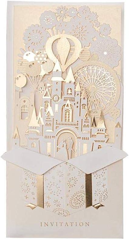 Amazon Com Castle Wedding Invitations Best Quality
