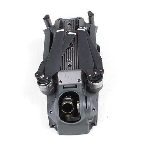 Malloom Cortina del sol Capilla de lente fulgor cardán cámara Protector cubierta para DJI Mavic Pro (Gris): Amazon.es: Juguetes y juegos