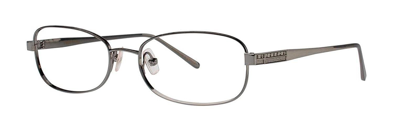 Vera Wang Dolcezzaガンメタル眼鏡size54   B018XUOJFK