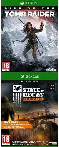 Rise Of The Tomb Raider + State Of Decay - Year One Survival ...
